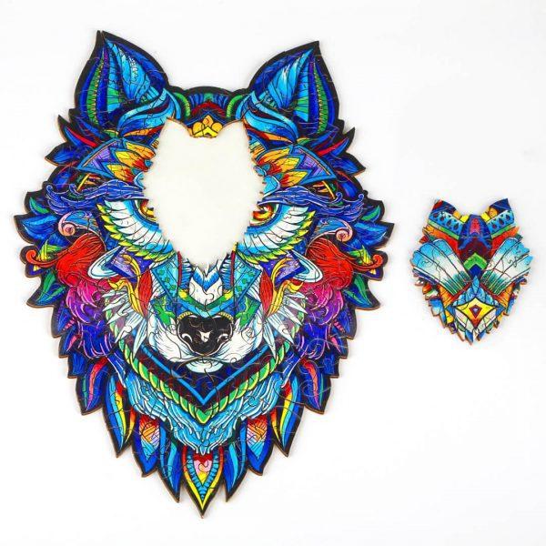 Farkas Wolf Alion Játék Puzzle Kirako Puzzle