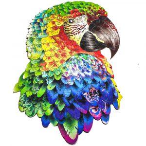 papagáj Parrot Alion Játék Puzzle Kirako Puzzle