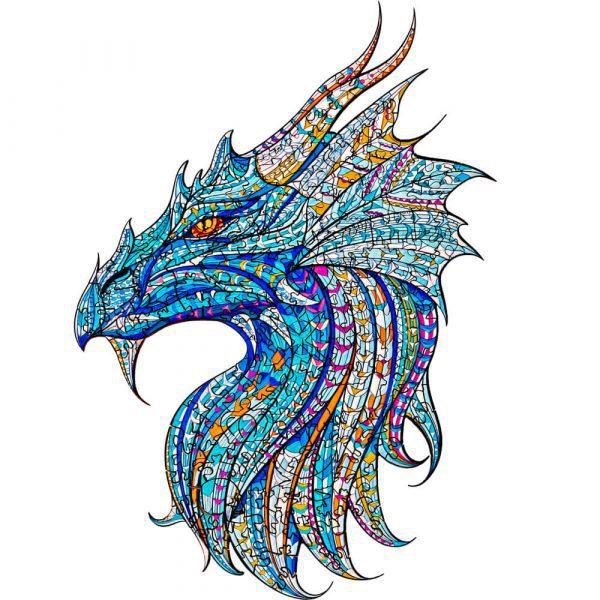Sárkány Dragon Alion Játék Puzzle Kirako Puzzle