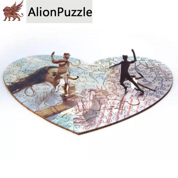 Igaz Baratsag Alion FaPuzzle Nyírfa Kirako Jigsaw