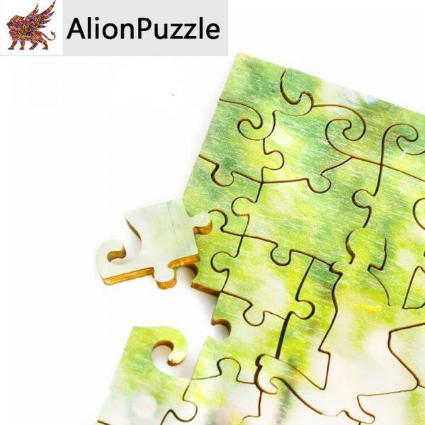 örök szerelem Alion FaPuzzle Nyírfa Kirako Jigsaw
