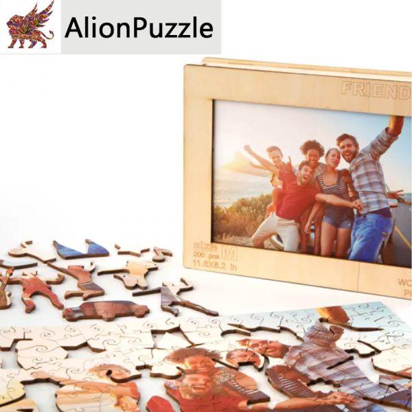 Baratsag Alion FaPuzzle Nyírfa Kirako Jigsaw