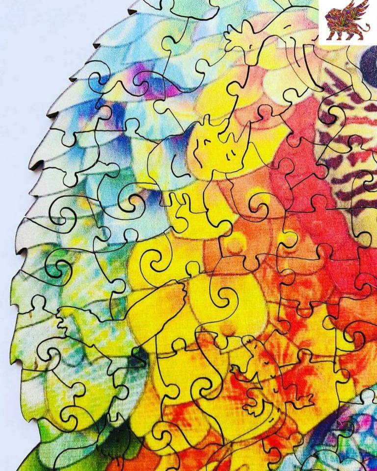 Alion-fa-puzzle-papagaj-fa-kirakó-játék-5