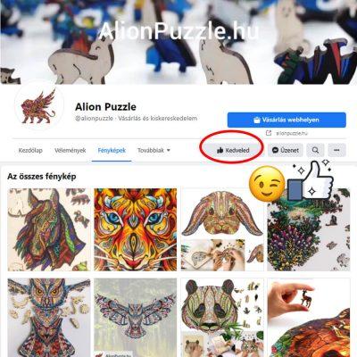 Facebook Alipn Puzzle Fa Puzzle Fa Kirakó